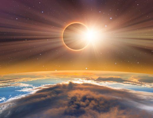Nasa tarafından kaydedilen güneş tutulması