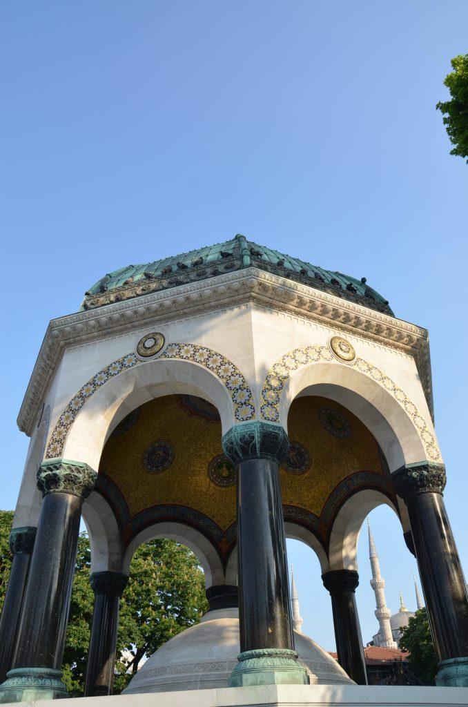 Alman Çeşmesi, Sultanahmet Meydanı