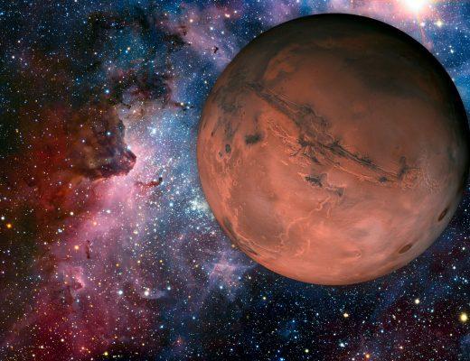 Mars Kuzey Ay Düğümü Karşıtlığı