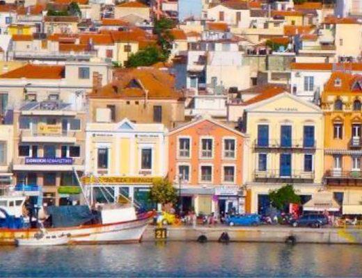 Adanın Başkenti Mytilini
