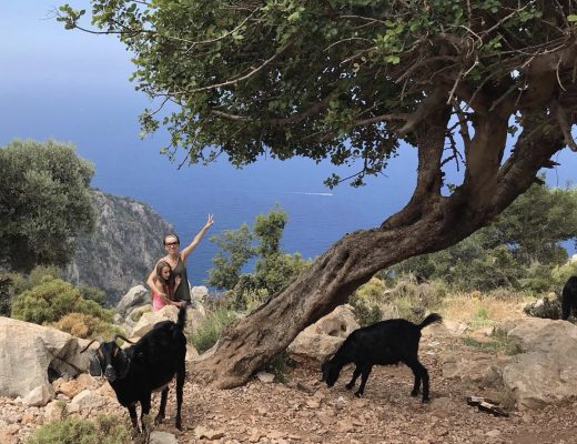 Güzel Kızımla Fethiye, Faralya Tepelerinde
