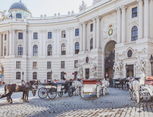 Hofburg İmparatorluk Sarayı Önü | Viyana