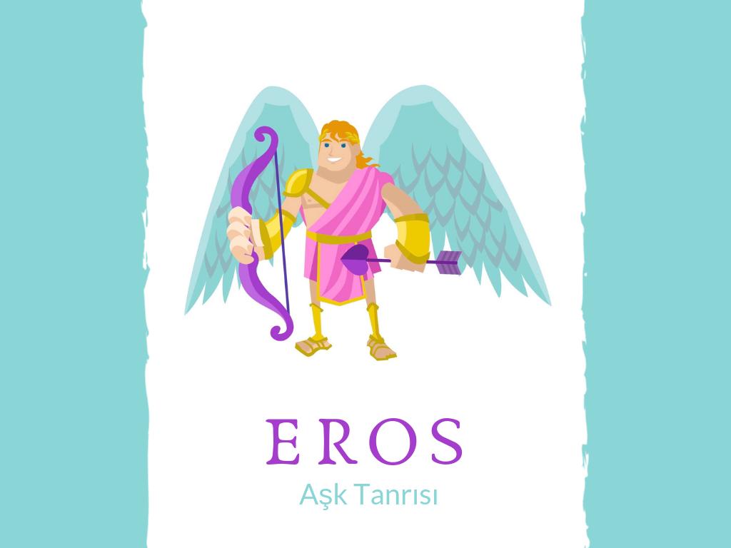 Aşk Tanrısı Eros | Psykhe ve Eros Aşkı
