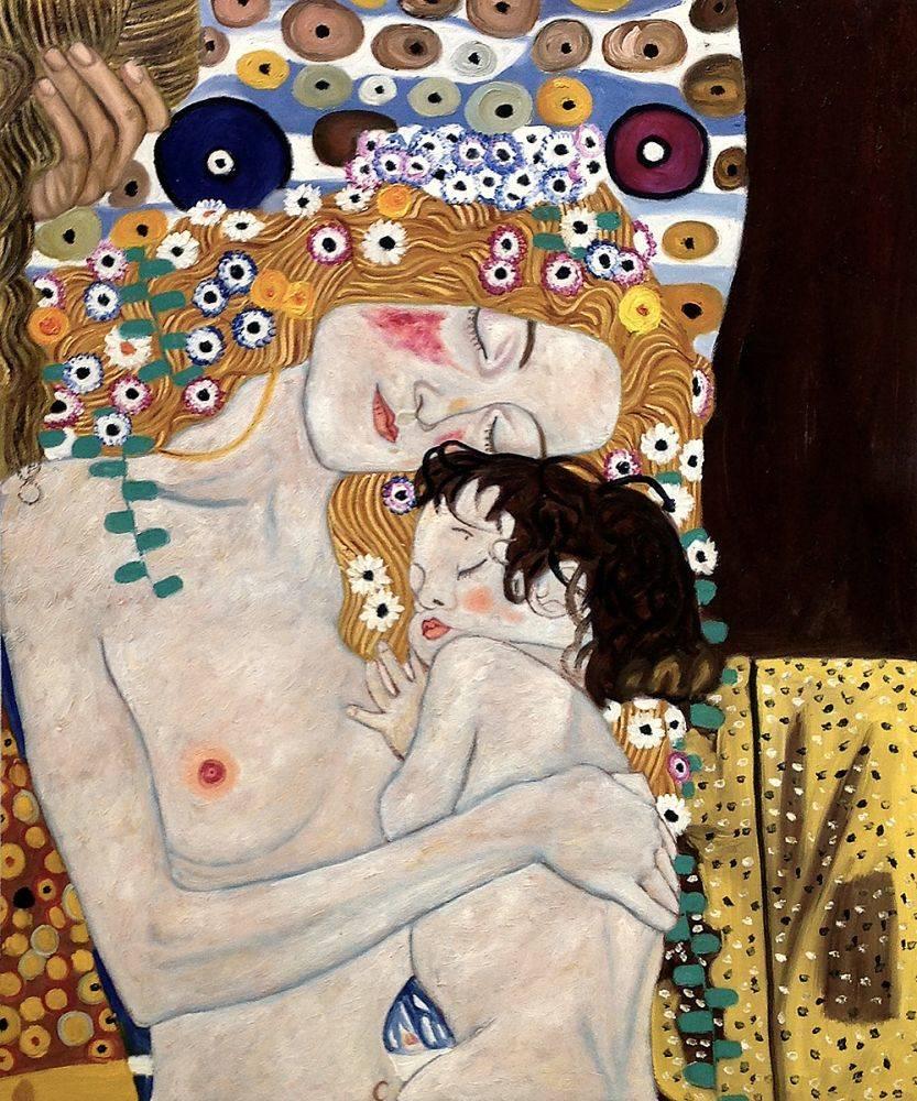 Gustav Klimt | Mother And Child | Gülümse