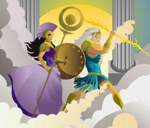Athena & Zeus