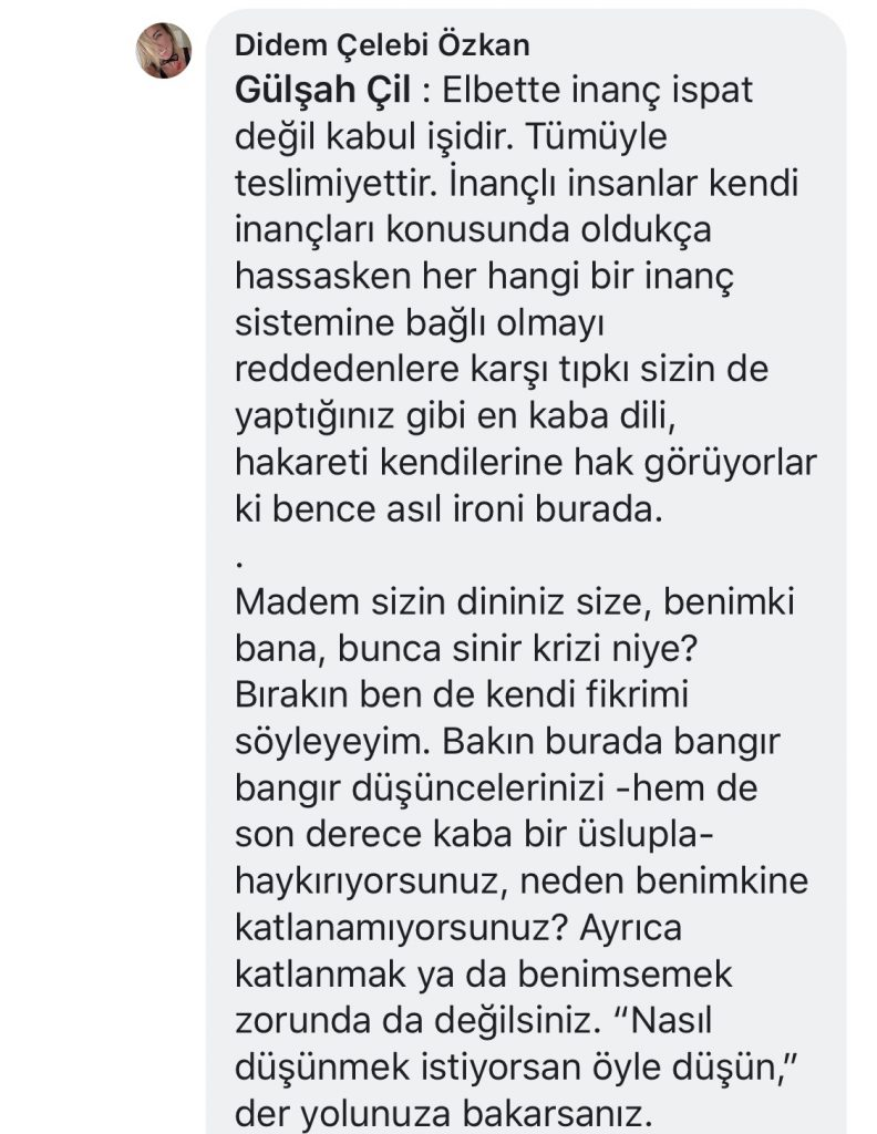 İlk Feminist Lilith | Facebook Yorumları | 5-1