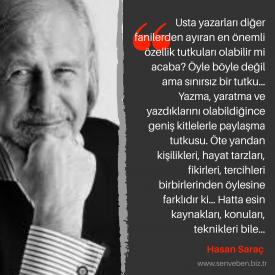 Yazarlarımızdan Alıntılar | Hasan Saraç