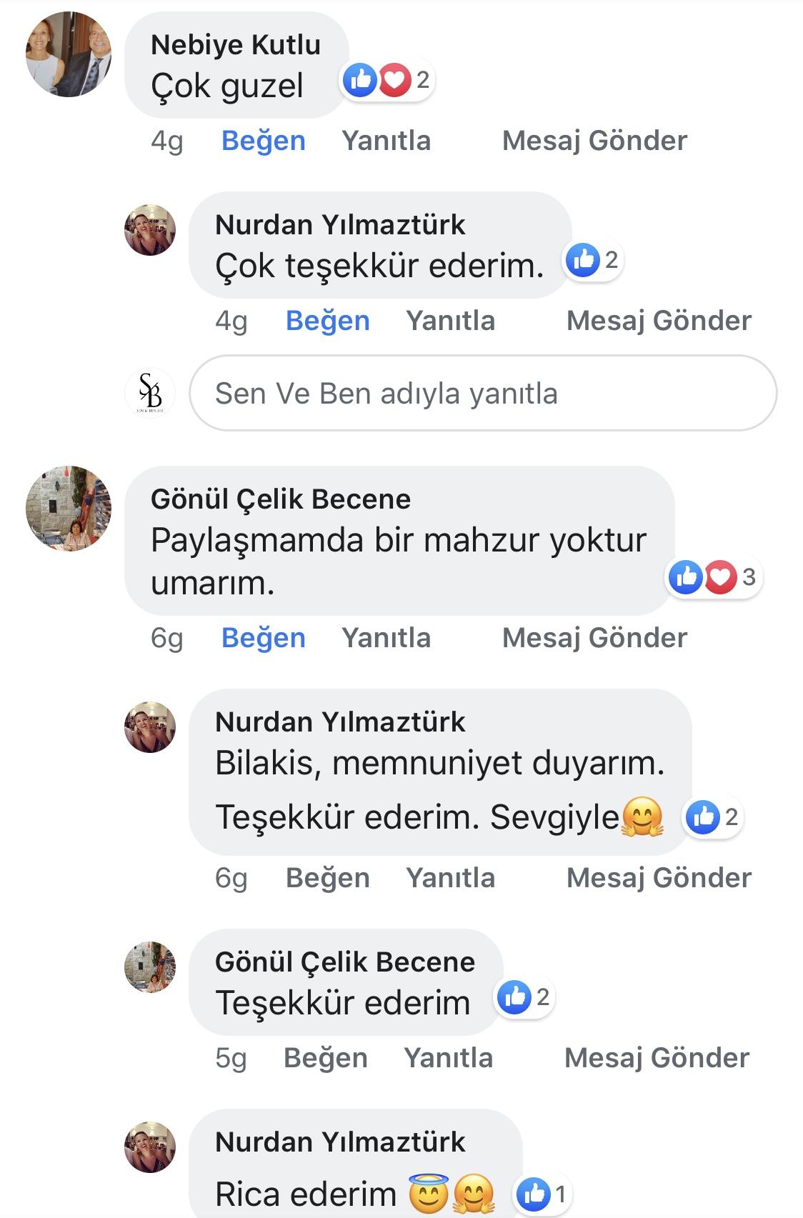 Ana Kucağı | Nurdan Yılmaztürk | Facebook Yorumları | 05