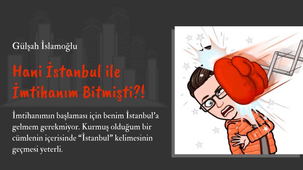 Gülşah İslamoğlu   Münferit Tatile Giderse   Hani İstanbul ile İmtihanım Bitmişti?!