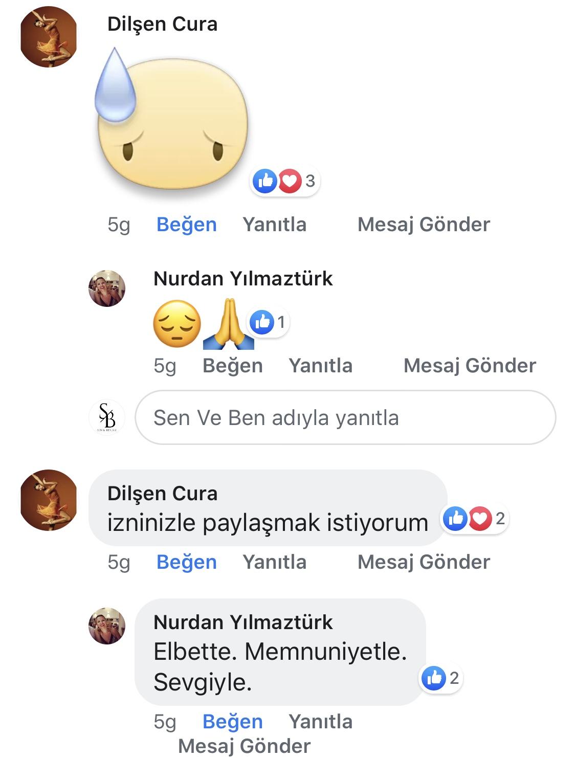 Ana Kucağı | Nurdan Yılmaztürk | Facebook Yorumları | 02