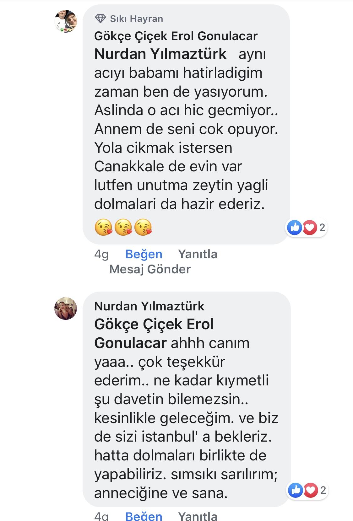 Ana Kucağı | Nurdan Yılmaztürk | Facebook Yorumları | 03