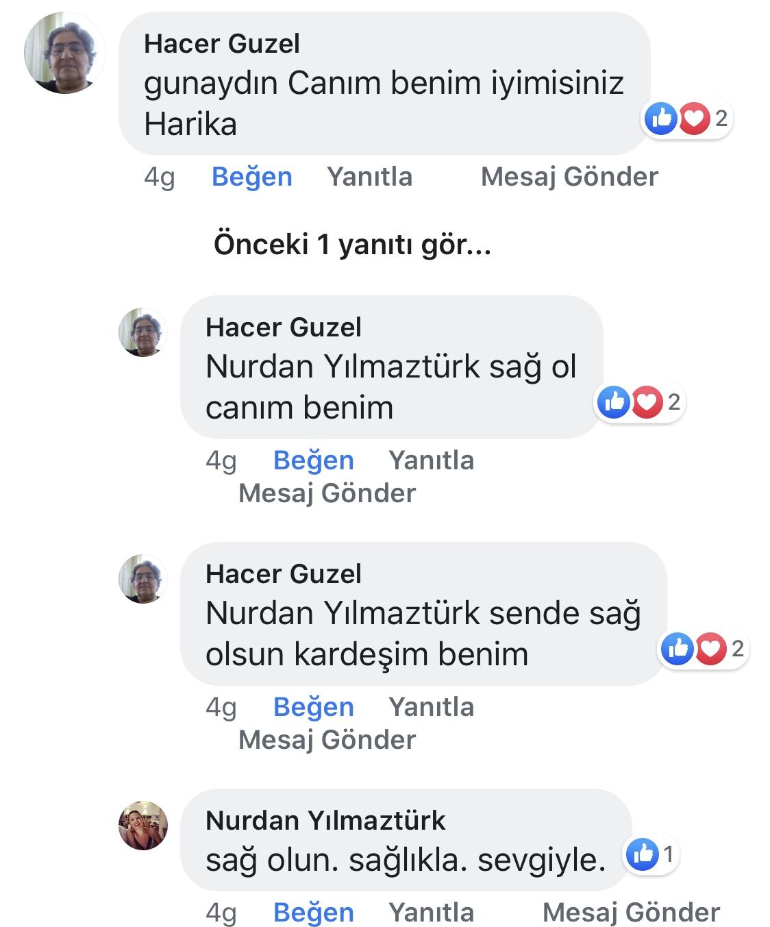 Ana Kucağı | Nurdan Yılmaztürk | Facebook Yorumları | 04