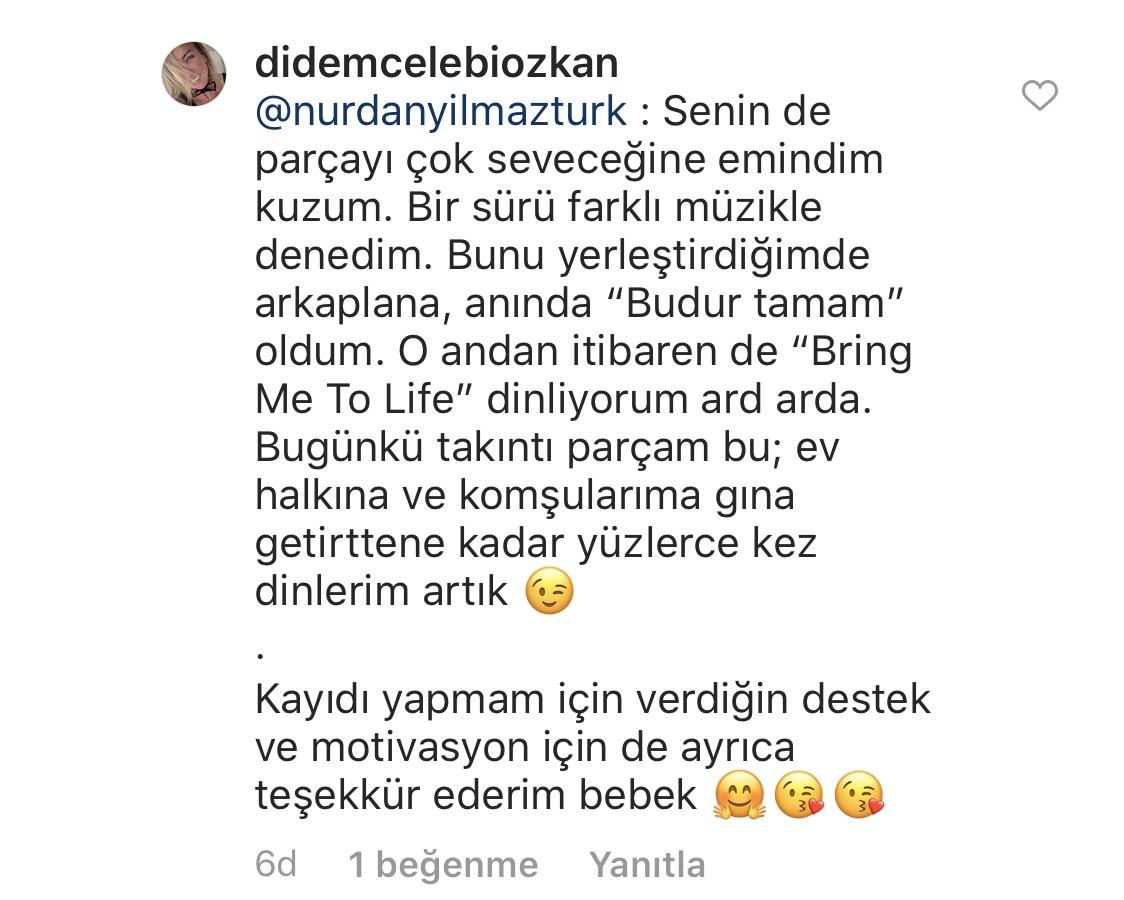 Umarım Bu Gece Öldürülmem    Didem Çelebi Özkan   Instagram Yorumları   03