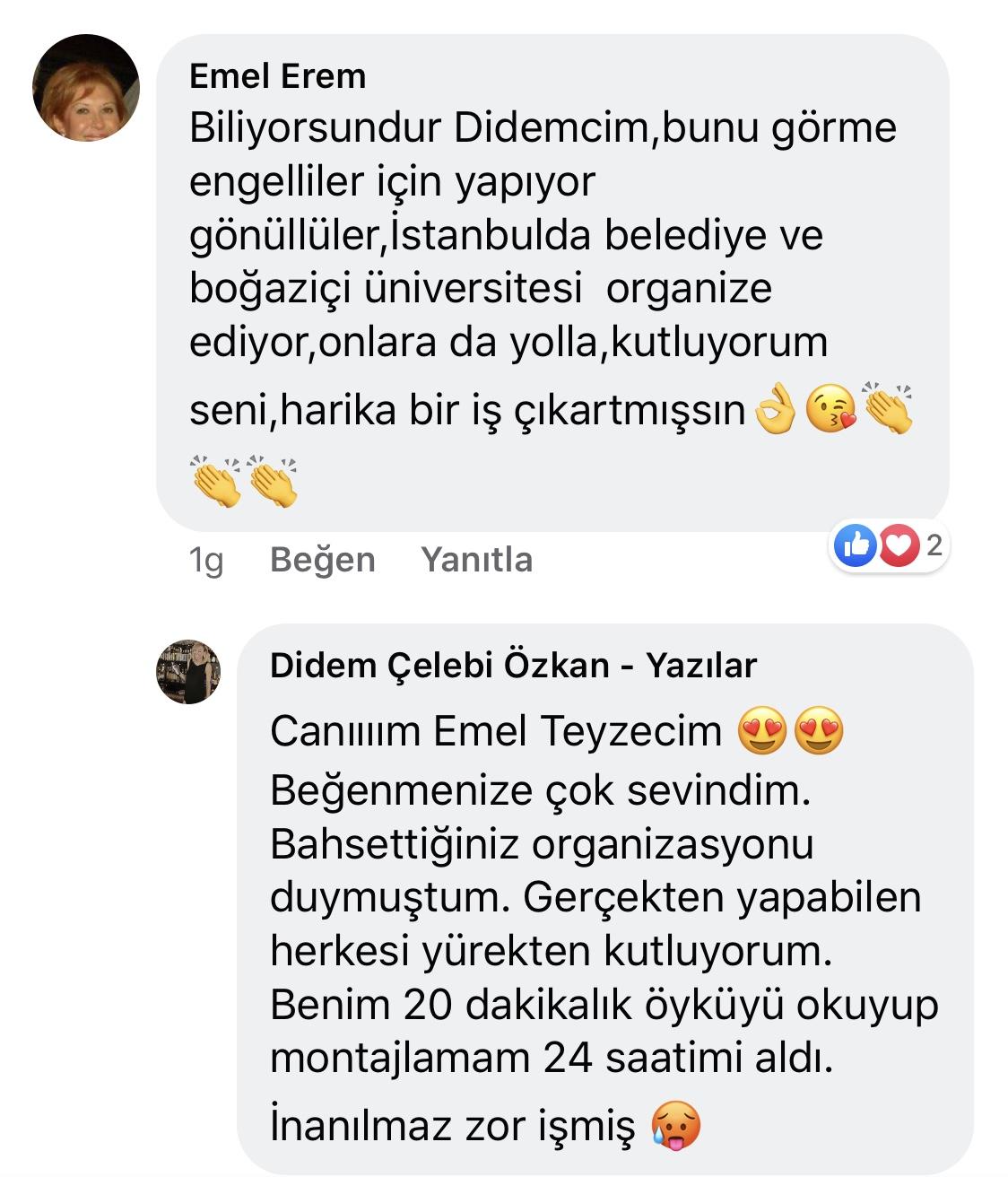 Umarım Bu Gece Öldürülmem   Didem Çelebi Özkan Facebook Yorumları   02