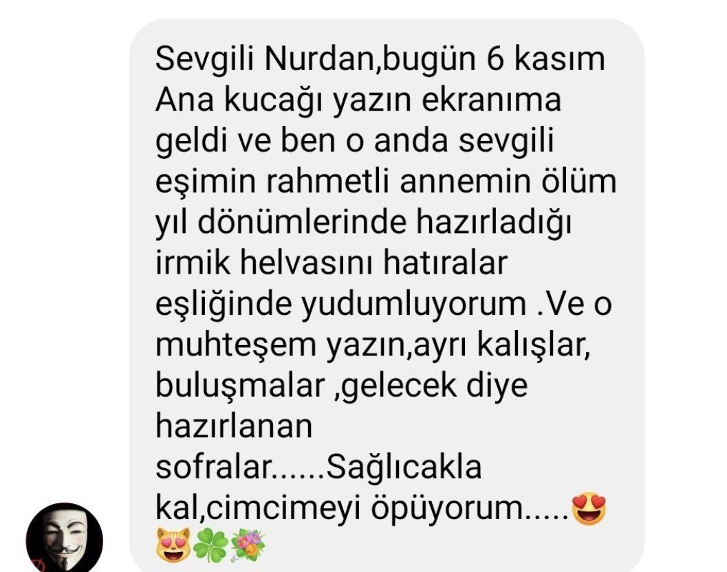 Ana Kucağı | Nurdan Yılmaztürk | Facebook Yorumları | 01