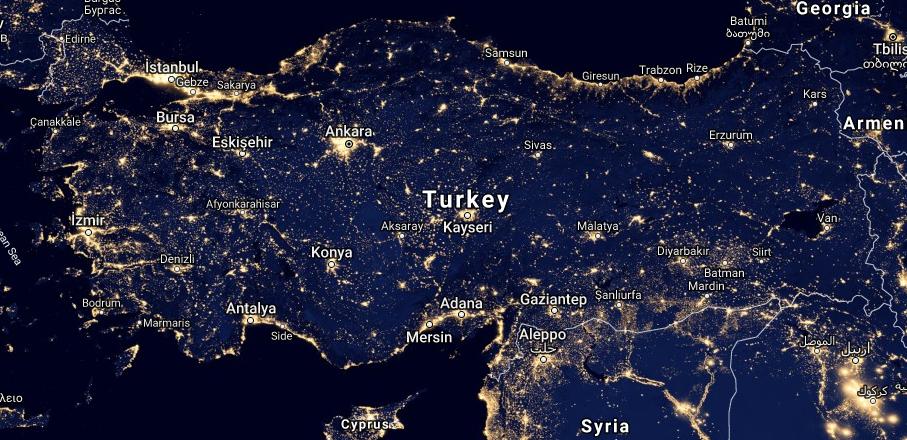 Yazı: Türkiye'de Işık Kirliliğini Önleme Çalışmaları | Yazan: İlhan Vardar