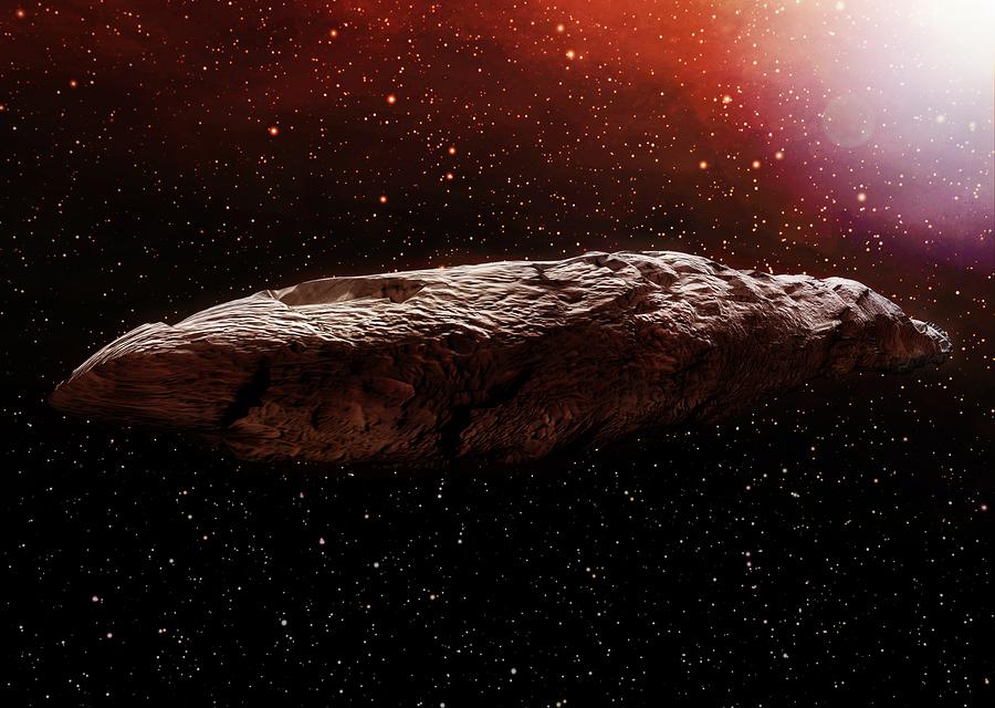 Yazı: Yıldızlararası Uzaydan Gelen Ziyaretçiler   Yazan: İlhan Vardar
