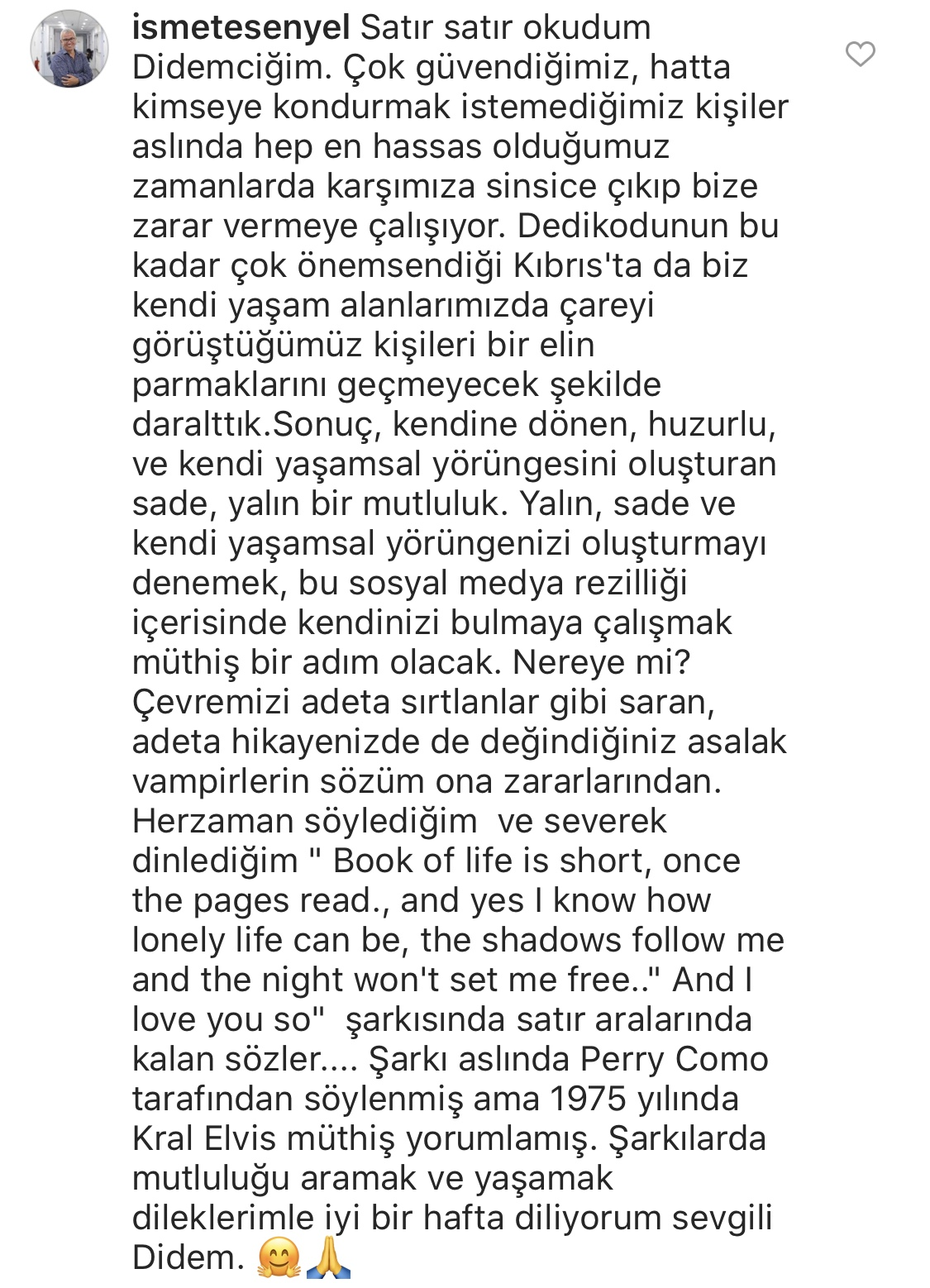 Daha Boşanmadan… | Instagram Yorumları | 01