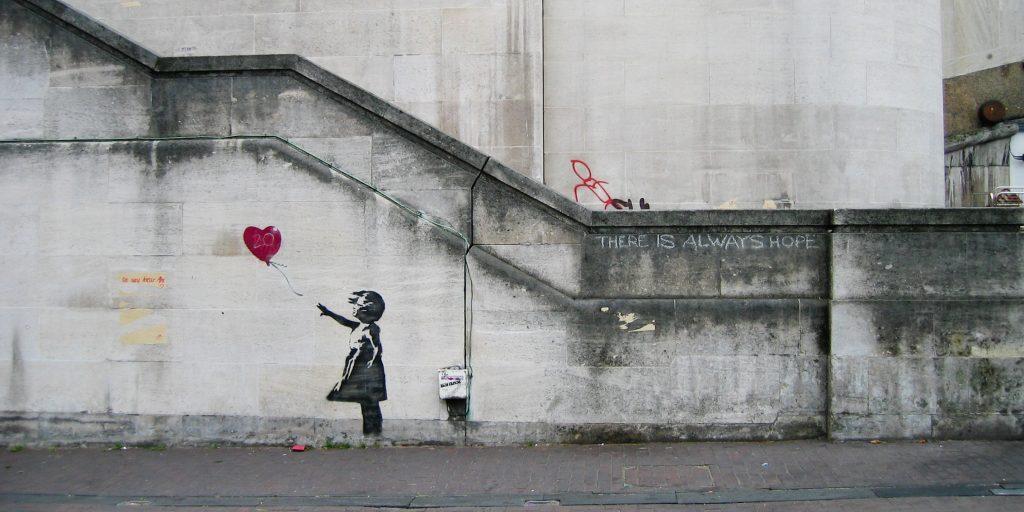 Yazı: Banksy ve Kendini Yok Eden Eseri | Yazan: Pelin Erem