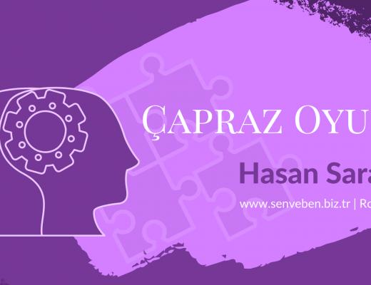 Roman: Çapraz Oyun | Bölüm 1 | Yazan: Hasan Saraç