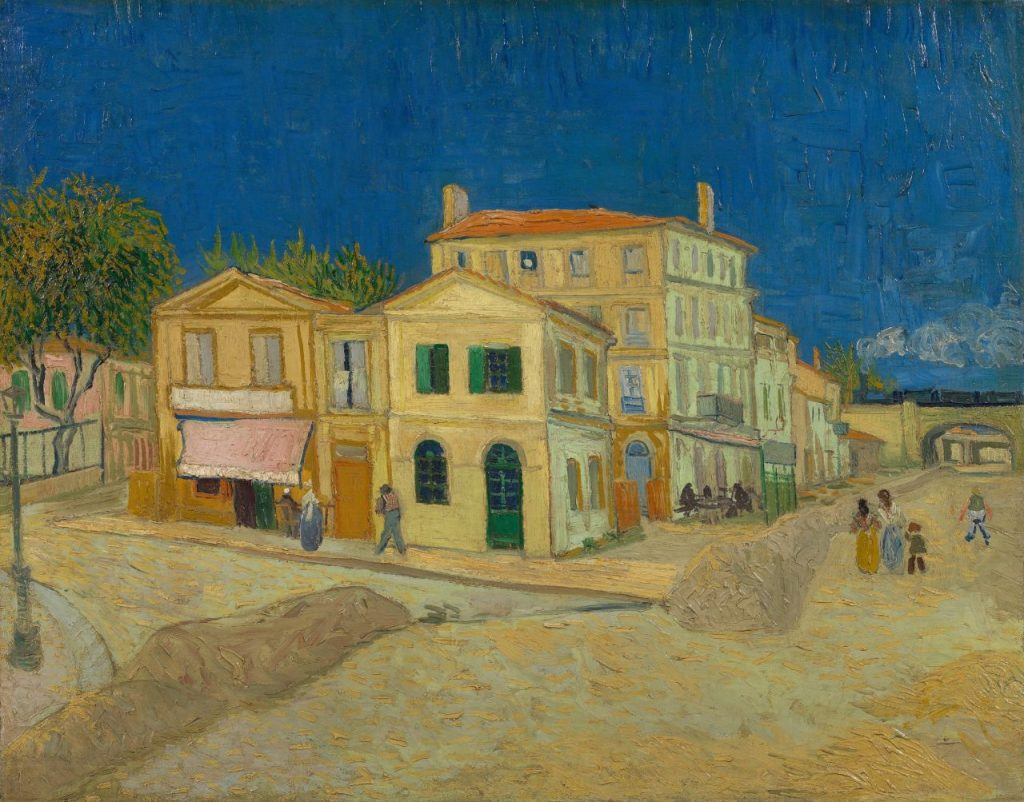 The Yellow House | Sarı Ev | Vincent Van Gogh