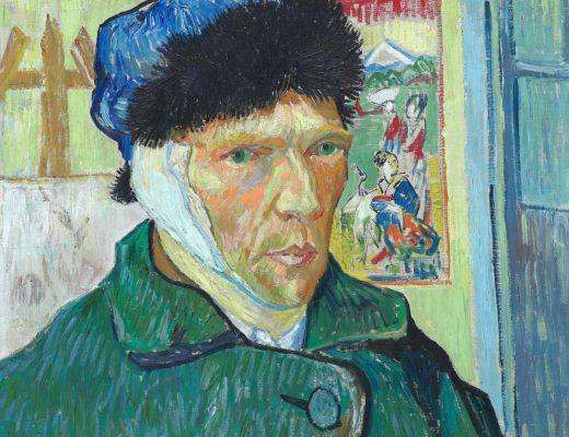 Bandaged Ear | Kulağı Bandajlı Otoportre | Vincent Van Gogh
