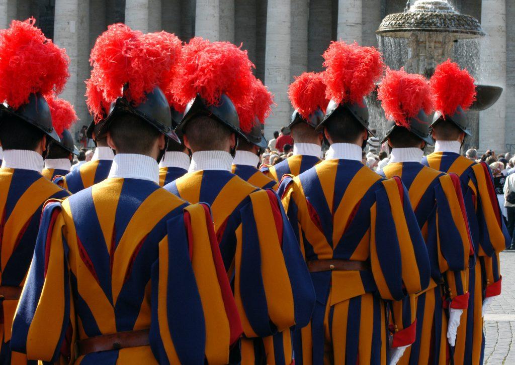 500 yıldır görev başındaki İsviçreli Muhafızlar, Vatikan, Roma