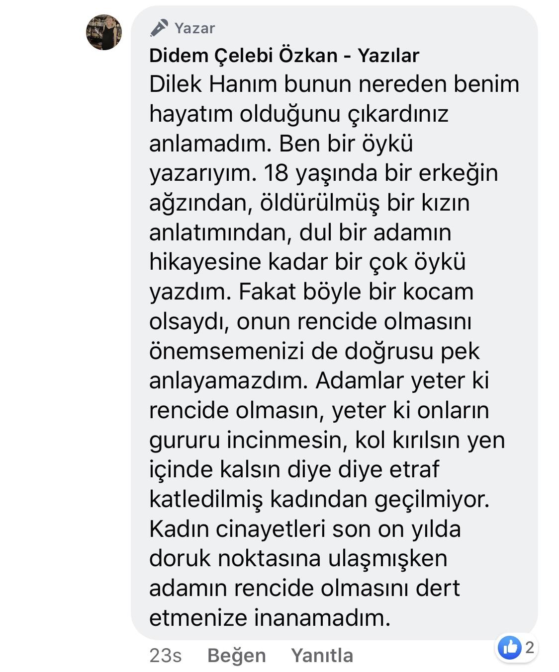 Koca! | Didem Çelebi Özkan Yazılar Facebook Sayfası Yorumları | 11