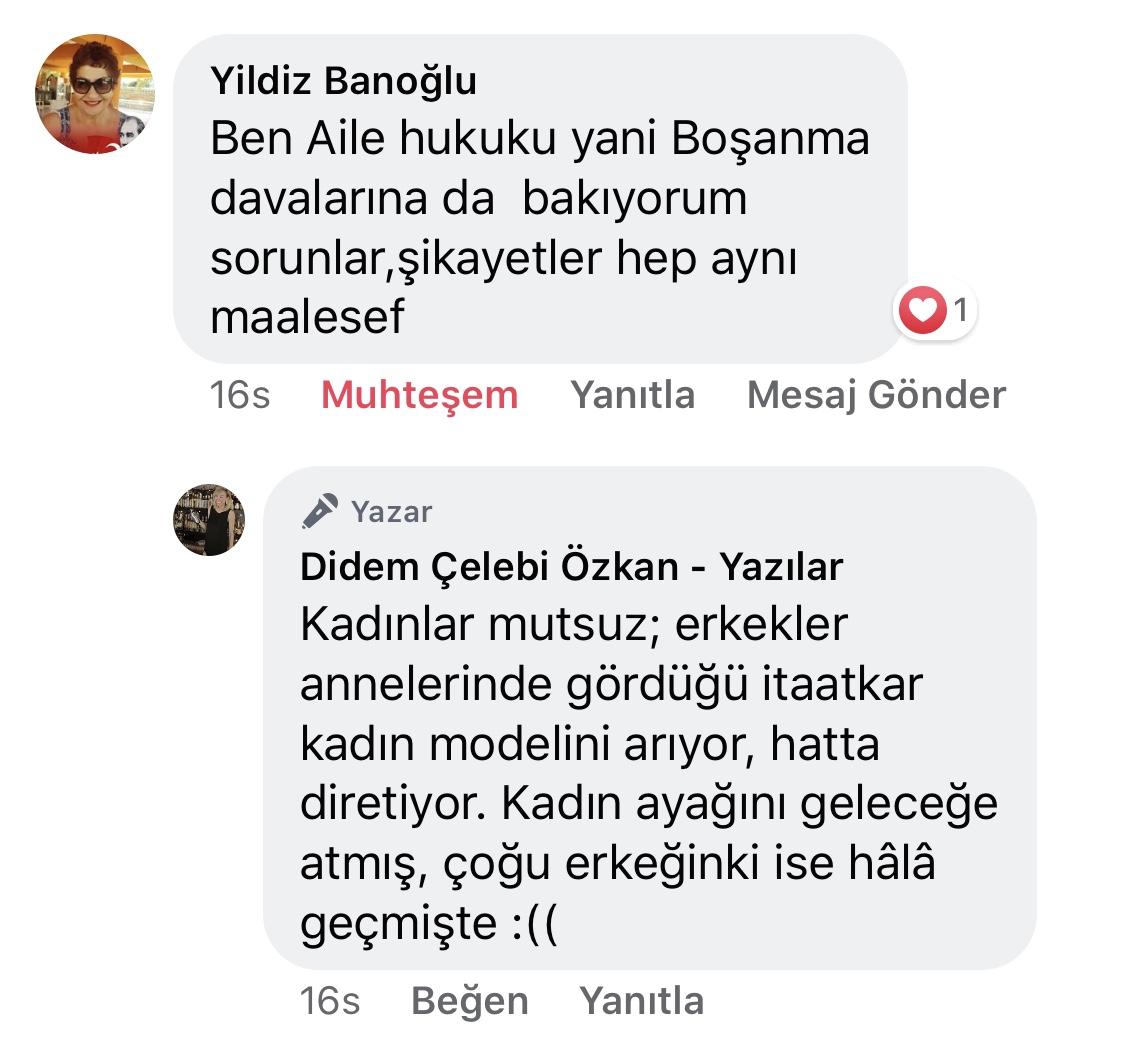 Koca! | Didem Çelebi Özkan Yazılar Facebook Sayfası Yorumları | 06