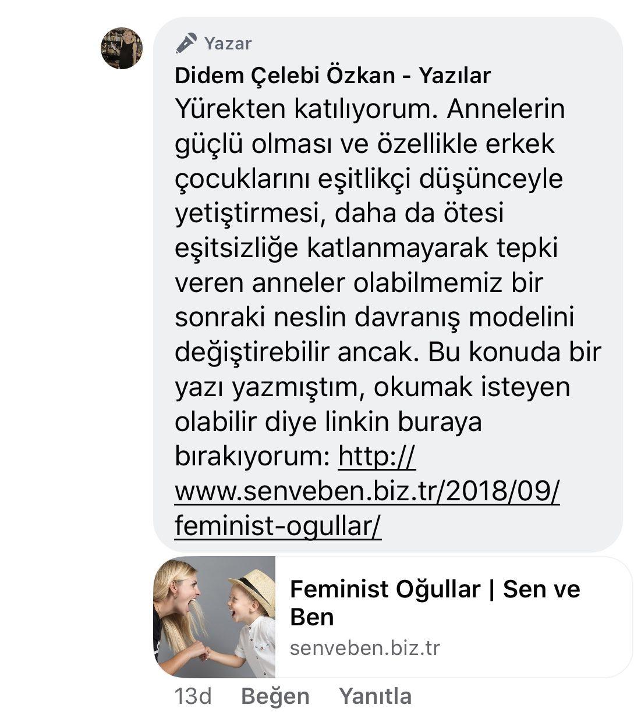 Koca! | Didem Çelebi Özkan Yazılar Facebook Sayfası Yorumları | 04