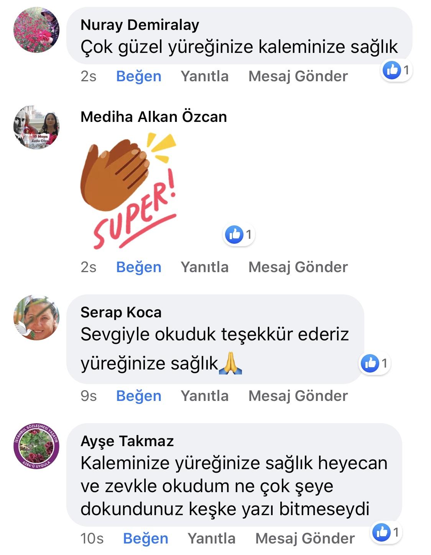 Karnıyarık | Zeynep Mete | SenVeBen Facebook Sayfası Yorumları | 09