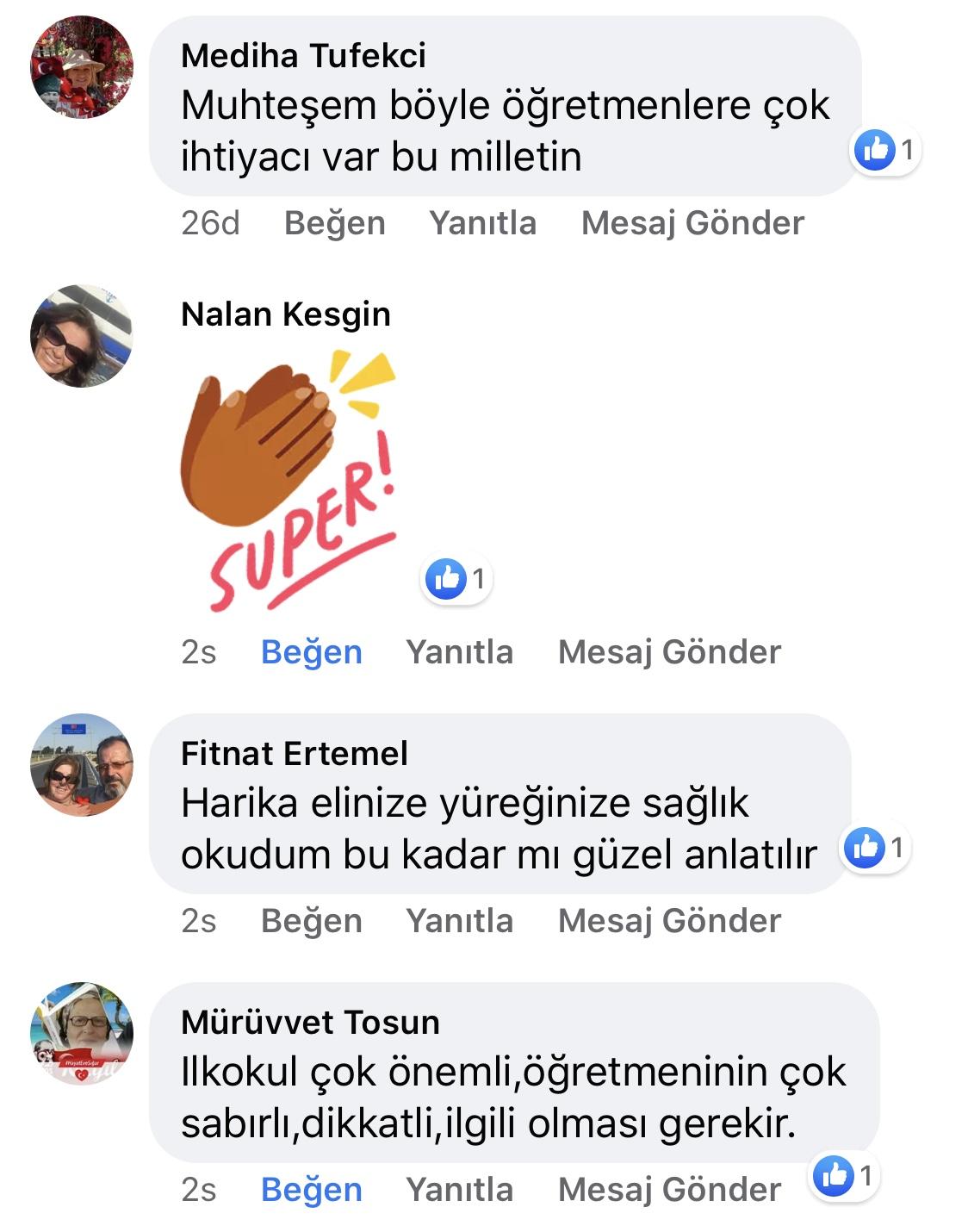 Karnıyarık | Zeynep Mete | SenVeBen Facebook Sayfası Yorumları | 10