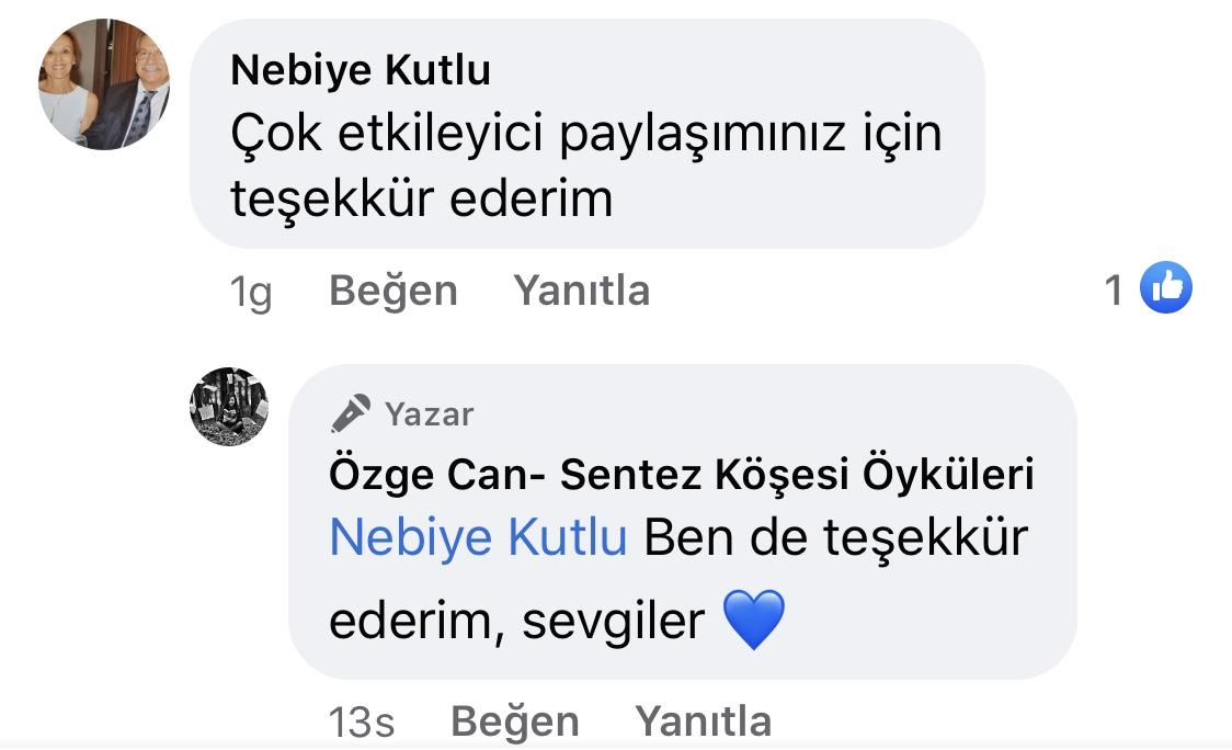 Yara Bandı Tutmayanlar | Türkan'ın Sahipliği | Özge Can | Facebook Sayfası Yorumları | 04
