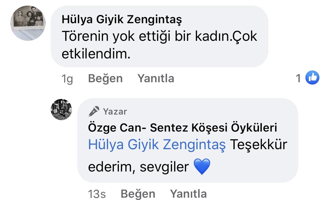 Yara Bandı Tutmayanlar | Türkan'ın Sahipliği | Özge Can | Facebook Sayfası Yorumları | 01