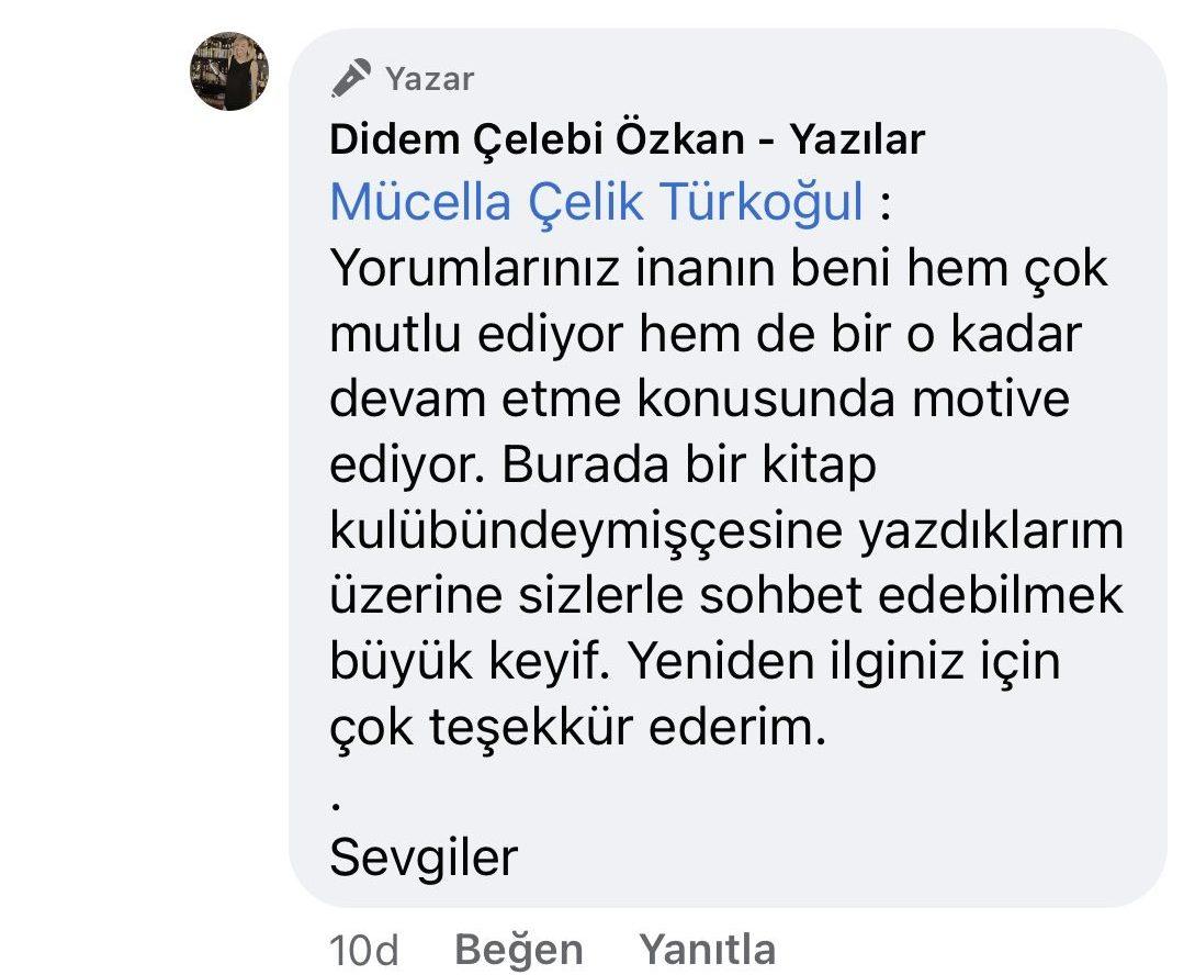Hezeyan | Didem Çelebi Özkan Yazılar Facebook Sayfası Yorumları | 09_02