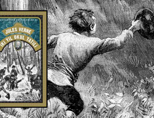 Kitap: İki Yıl Okul Tatili | Yazar: Jules Verne | Yorumlayan: Hülya Erarslan