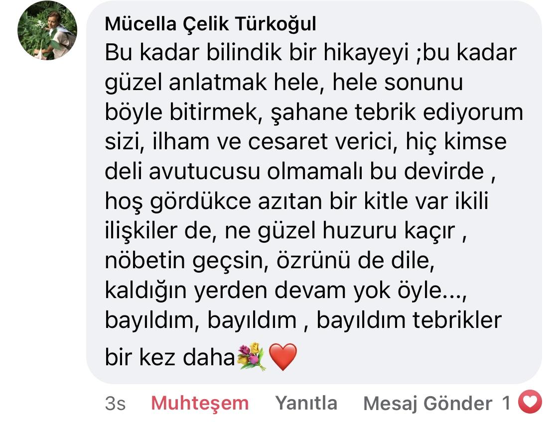 Hezeyan | Didem Çelebi Özkan Yazılar Facebook Sayfası Yorumları | 08