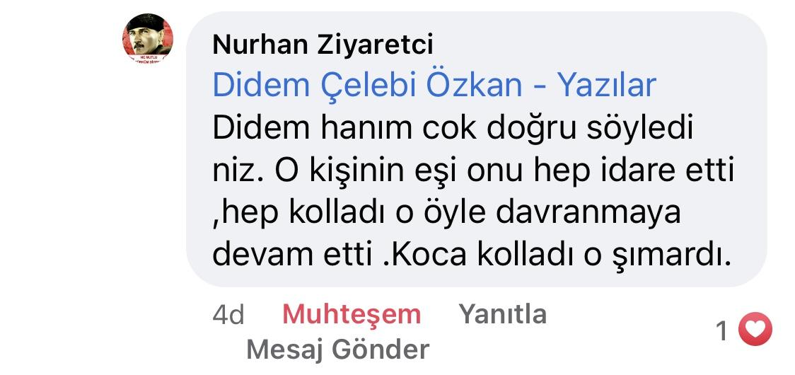 Hezeyan | Didem Çelebi Özkan Yazılar Facebook Sayfası Yorumları | 03_03