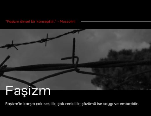 Yazı: Faşizm   5   Yazan: Atakan Balcı   AnaSayfa